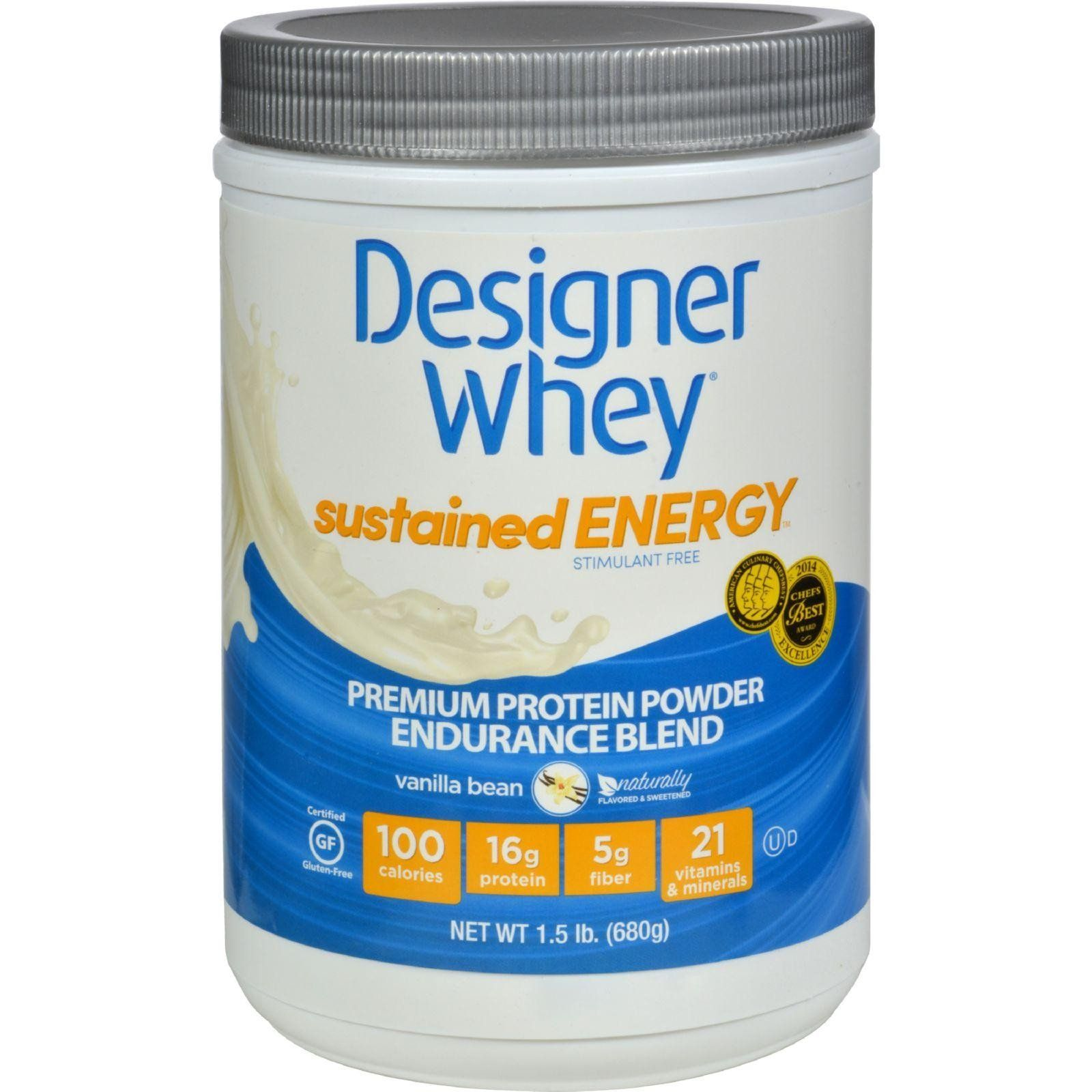 Designer Whey Sustained Energy is specifically formulated