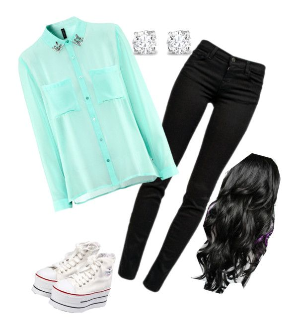 """""""school outfit"""" by anita-ahmadnezad ❤ liked on Polyvore"""