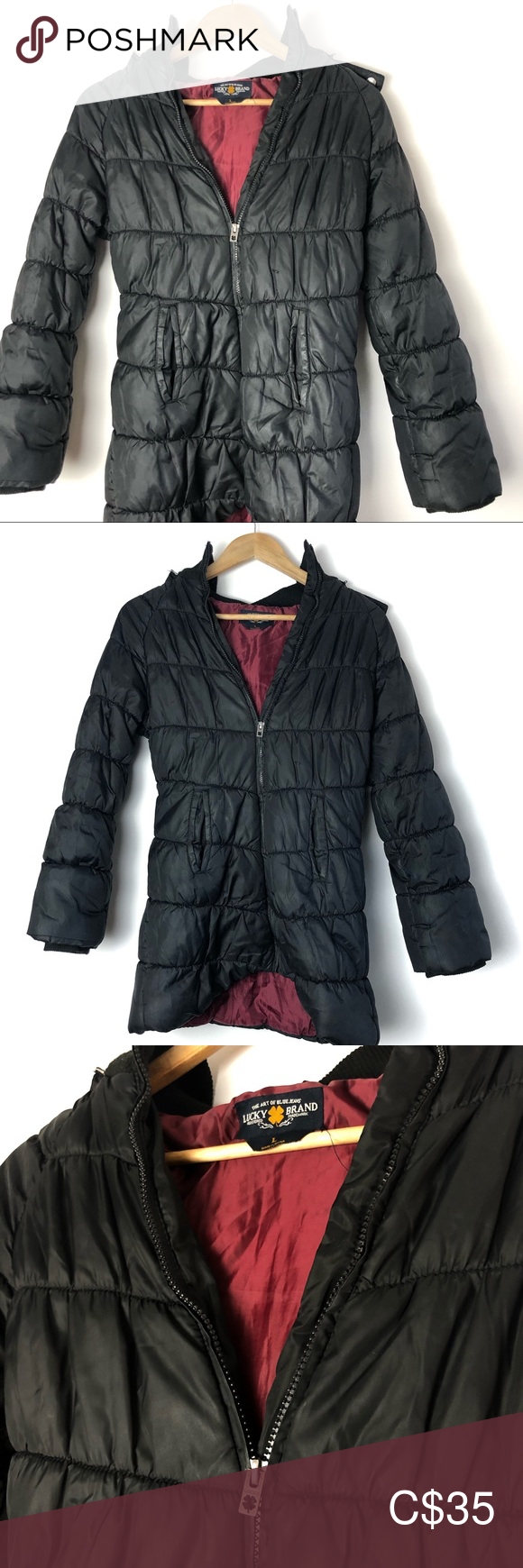Lucky Brand Puffer Jacket Lucky Brand Puffer Jacket This Jacket Is Great For The Upcoming Winter It Is Very Warm With A Clothes Design Lucky Brand Fashion [ 1740 x 580 Pixel ]