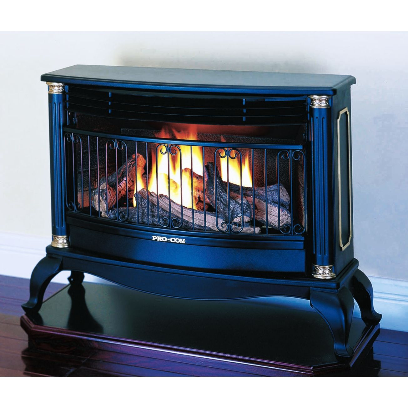 Duel Fuel Vent Free Fireplace From Procom At Ace Hardware Gas