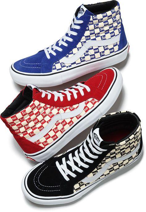 3c43057840b4  supreme  supremenewyork  vans  supremevans  collab  sneakers  sk8hi   vanssk8hi