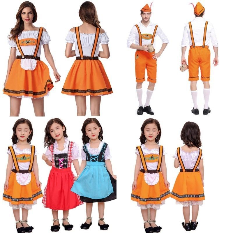 4dfd4953c8 Oktoberfest German Costume Polyester Halloween Fancy Party Dress Cosplay  Clothes  Halloween  CostumesforWomen  CoolCostumes