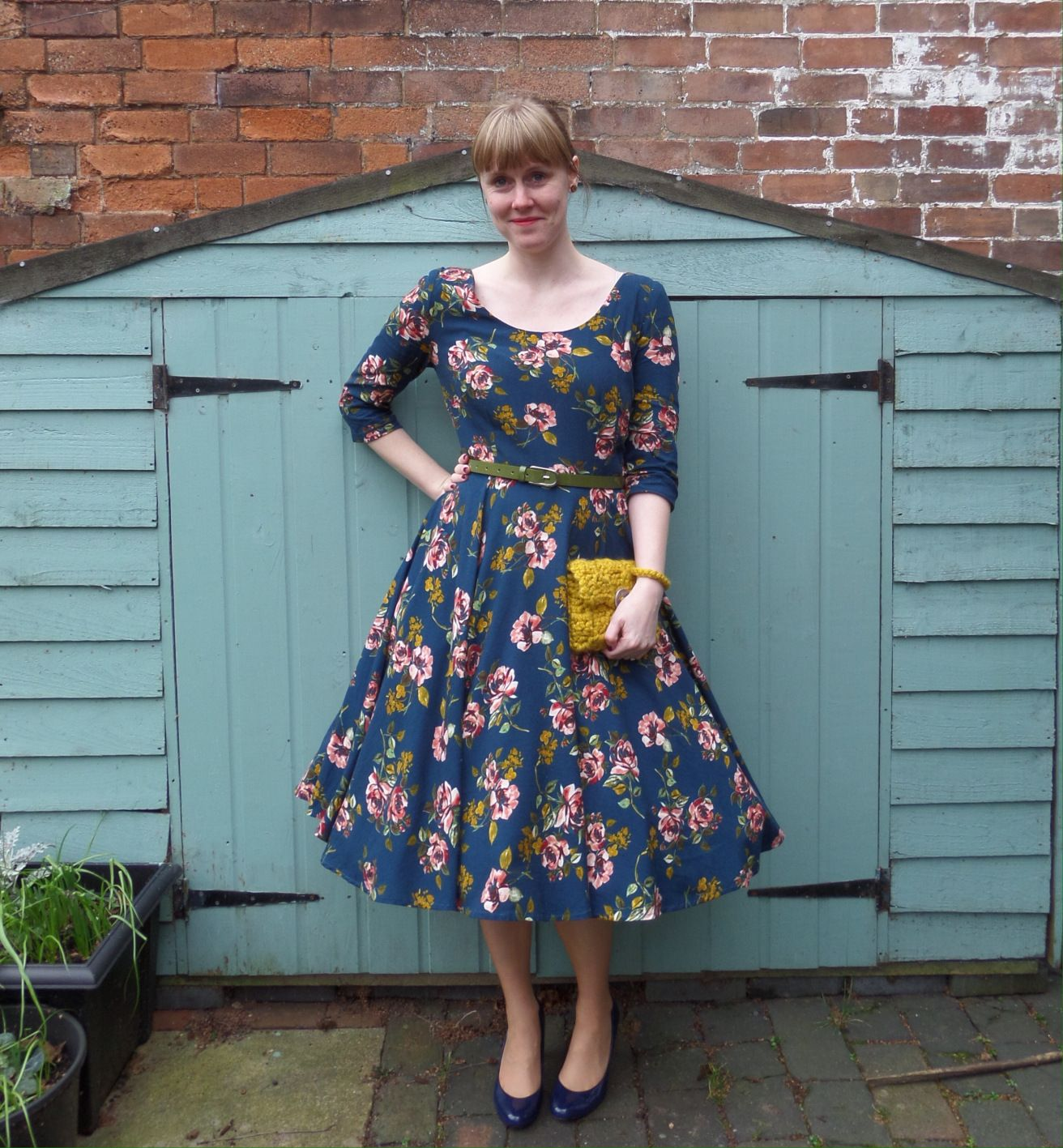Today I'm sharing one of my favourite handmade pieces ever, the Betty Dress bySew Over It. I've always liked this dress pattern, and when I received an invite to a friends wedding…