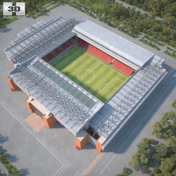 Anfield 3d model from humster3d.com