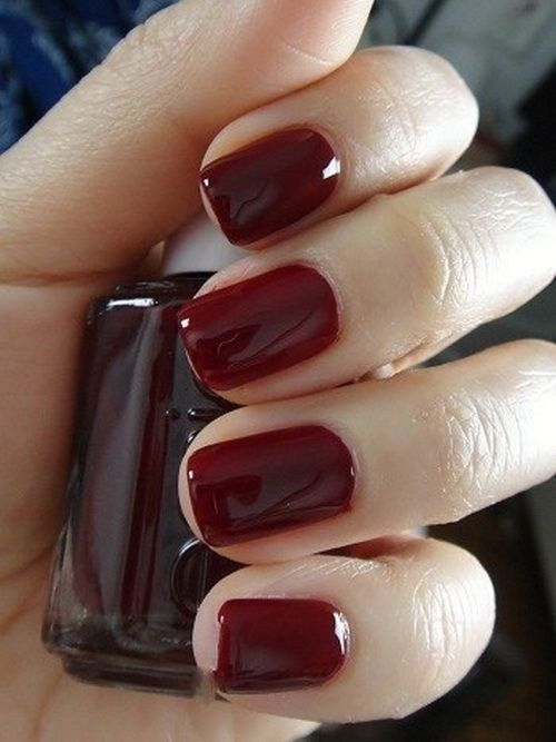Dark Red Nail Designs - Dark Red Nail Designs Nail Colors Pinterest Dark Red Nails