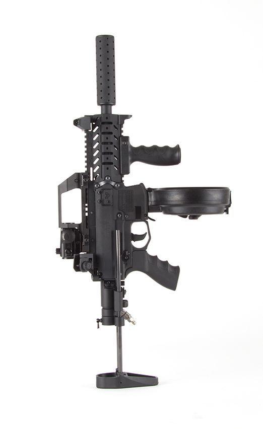 Custom Milsig M17 SMG Tempest MagFed Paintball Marker | Gun