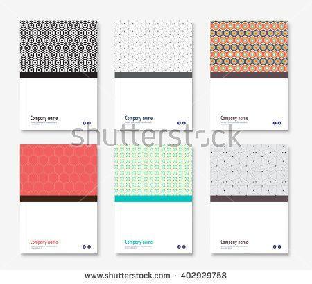Annual report cover design book, brochure template with sample - annual report cover template