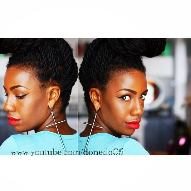 As requested… #crisscoss #topknot #bun! www.youtube.com/donedo05 (at www.youtube.com/donedo05)