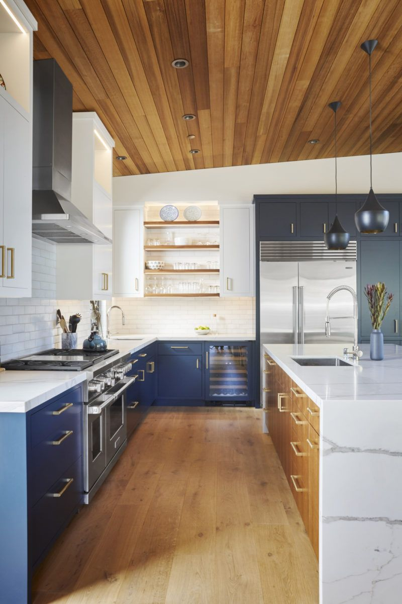 Organic Eclectic Kitchen Fireclay Tile Eclectic Kitchen