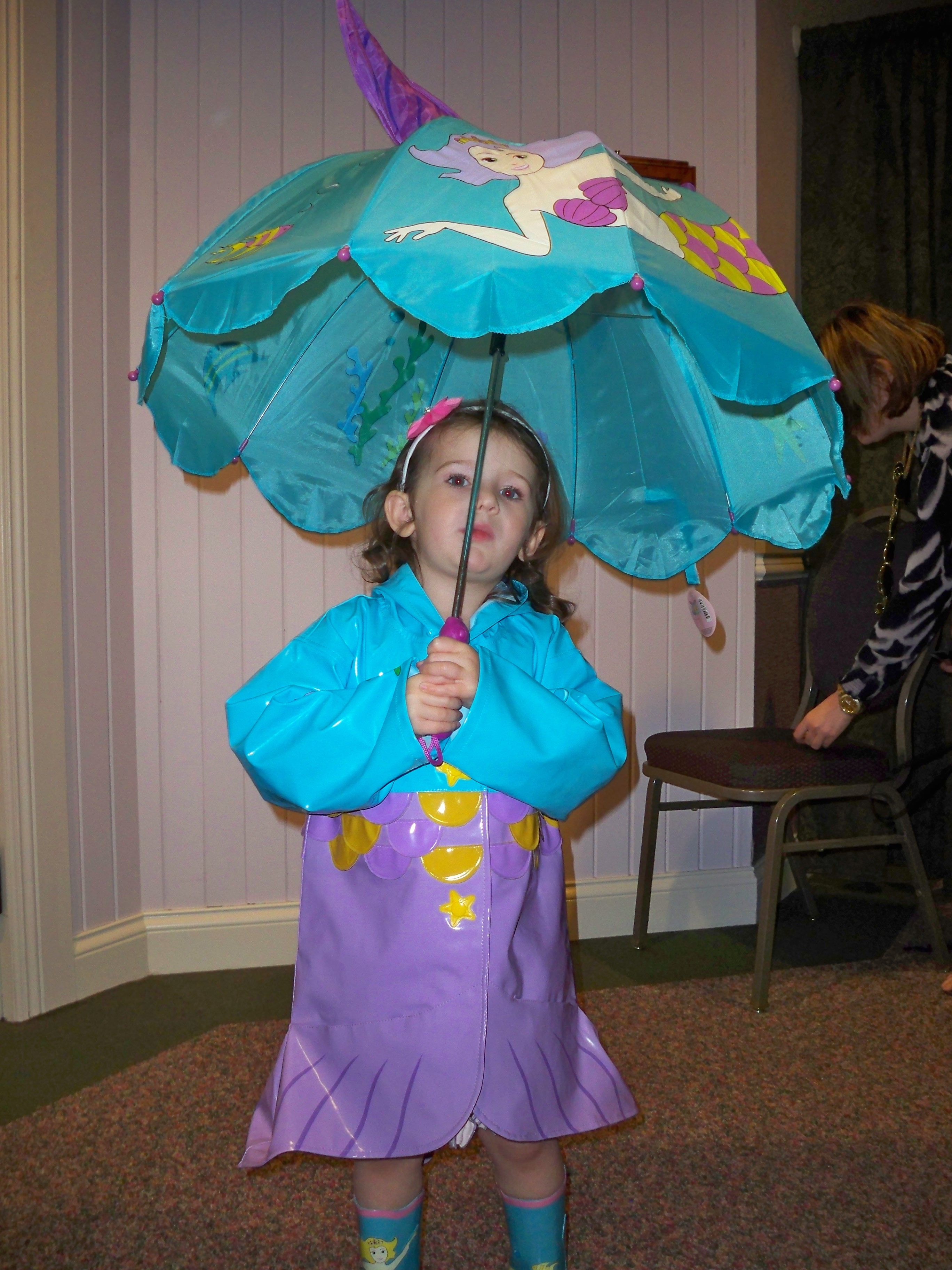 The Little Mermaid Raincoat Boots Amp Umbrella By Kidorable