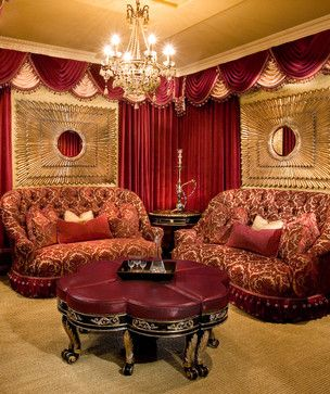 Custom Home Theater / Shady Canyon Residence traditional media room