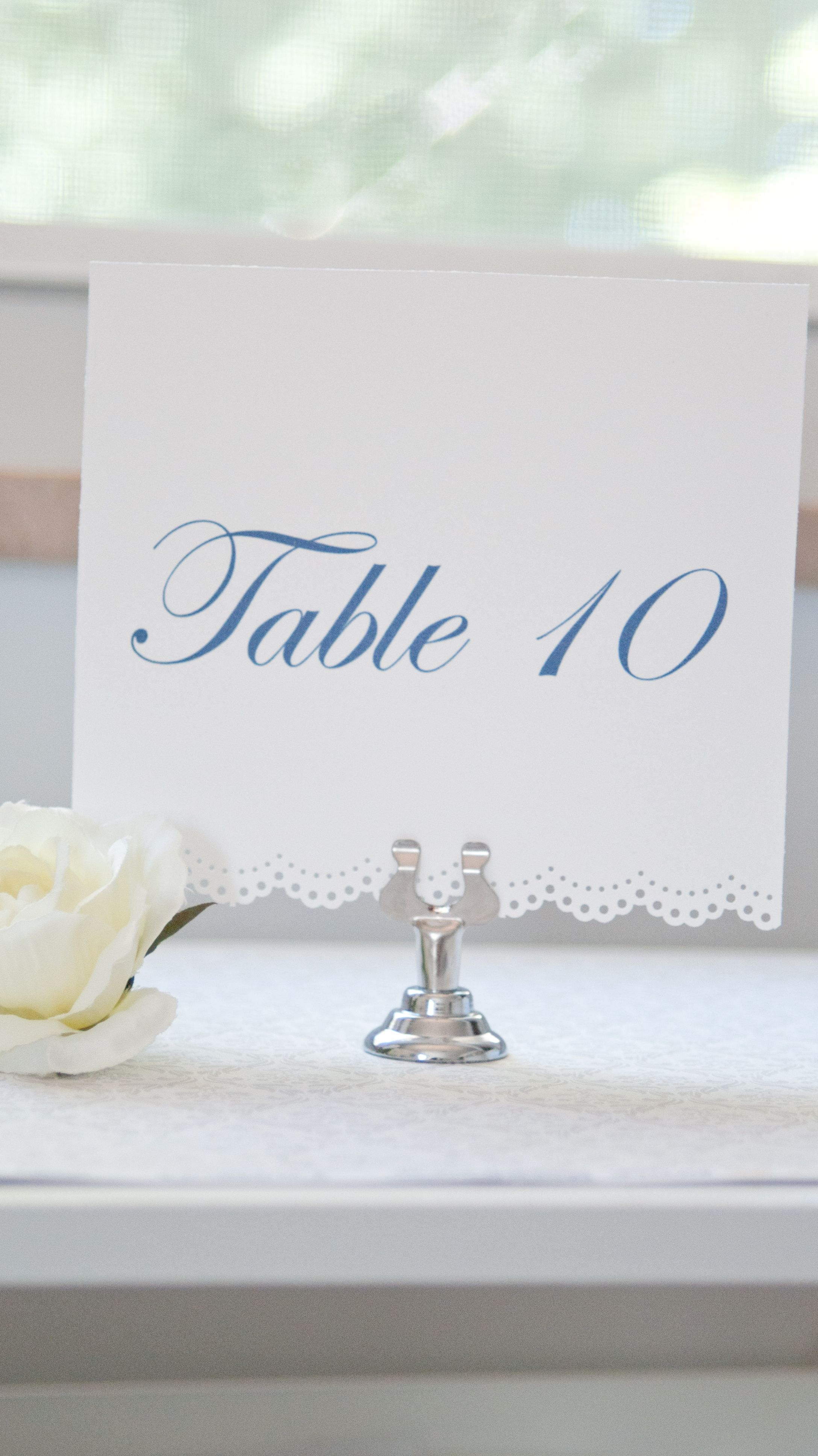 Table Numbers www.somethingwithlove.etsy.com | Wedding Inspiration ...