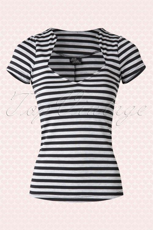 Steady Clothing Striped Sophia Shirt