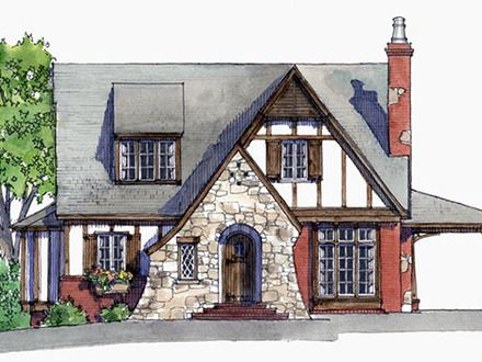 Tiny House Plans Storybook Cottage Small Tudor Cottage House Plans Cottage Living Magazine House Plans Southern House Plans Cottage House Plans Cottage Plan