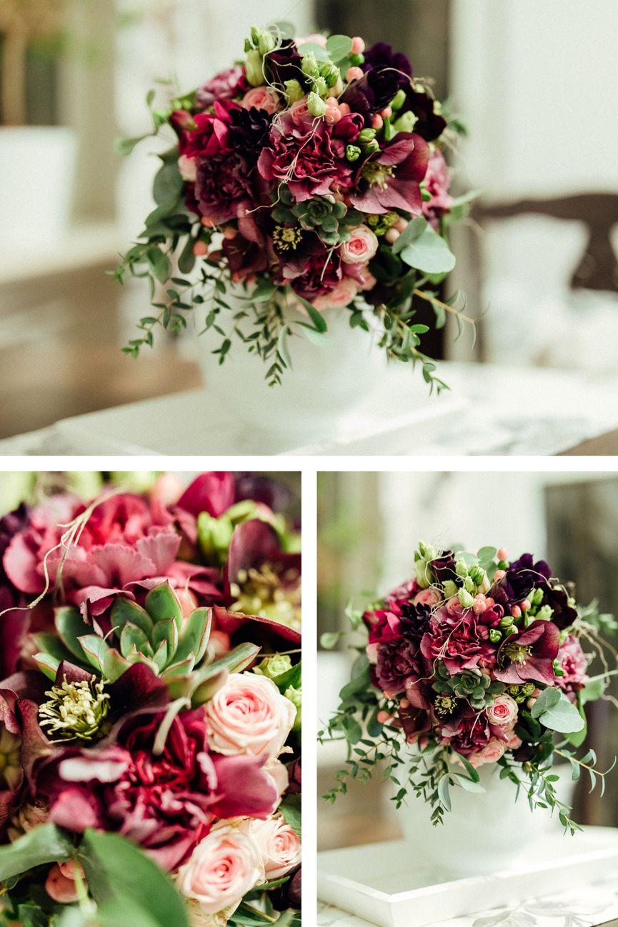 Winterbrautstrausse Inspirationen Blumen September Hochzeit Februar Hochzeit Blumenstrauss Hochzeit