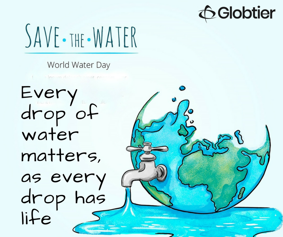 On This Worldwaterday Let S Try To Save Every Drop Of Water Because Water Is The Biggest Healer And Reliever Of World Water Day National Festival Save Water
