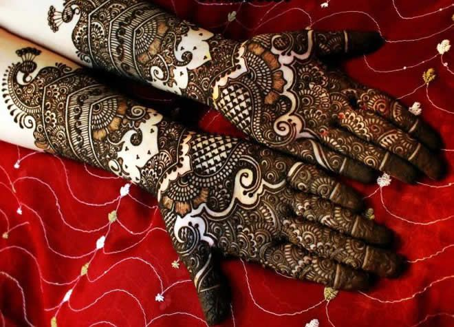 Mehndi Bridal Design Latest : Bridal mehndi designs for your wedding