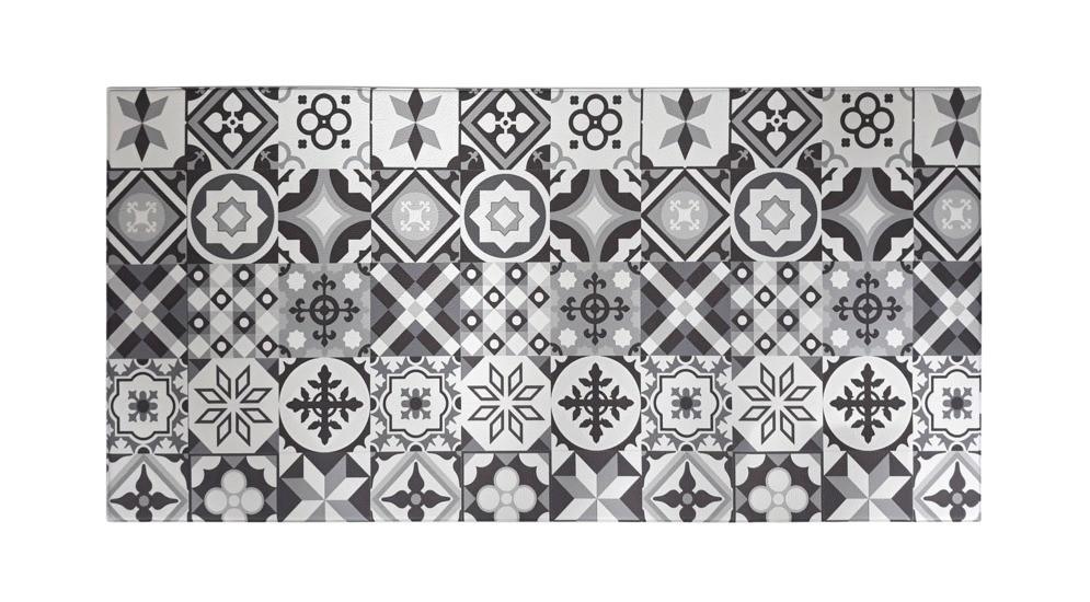 Mata Piankowa Tiles 50x100 Cm Salony Agata Tiles Printed Shower Curtain Prints