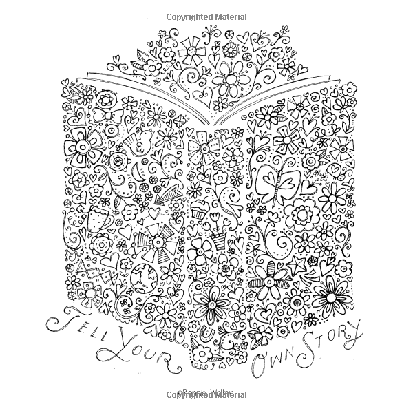 Amazon The Coloring Cafe Volume One A Book For Grown
