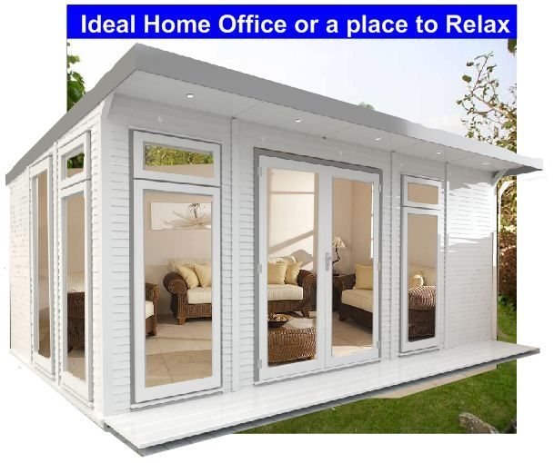 Fully Insulated Eco Suite Garden Room At Summer House Price, Home Office,  Gym   EcoSuite