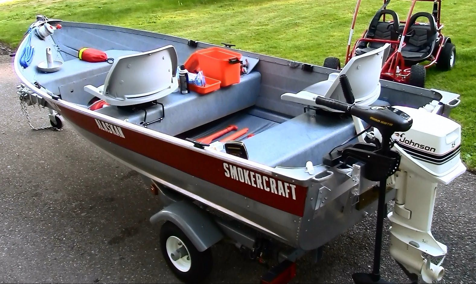 small resolution of 12 ft aluminum fishing boat customization and setup in hd