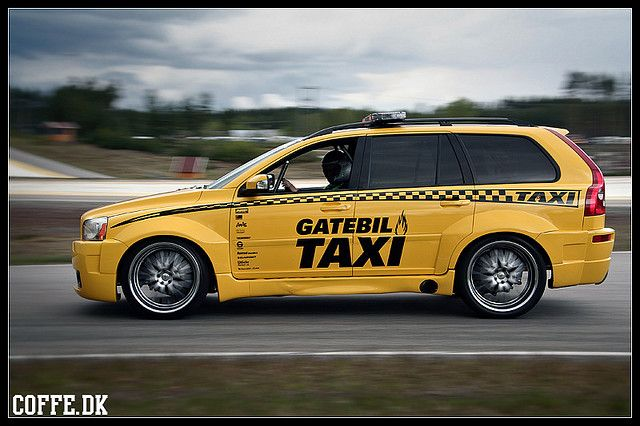 Not Your Average XC90 Taxi.