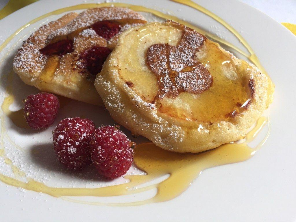 Photo of Fluffy yogurt apple pancakes – Tasty Matter