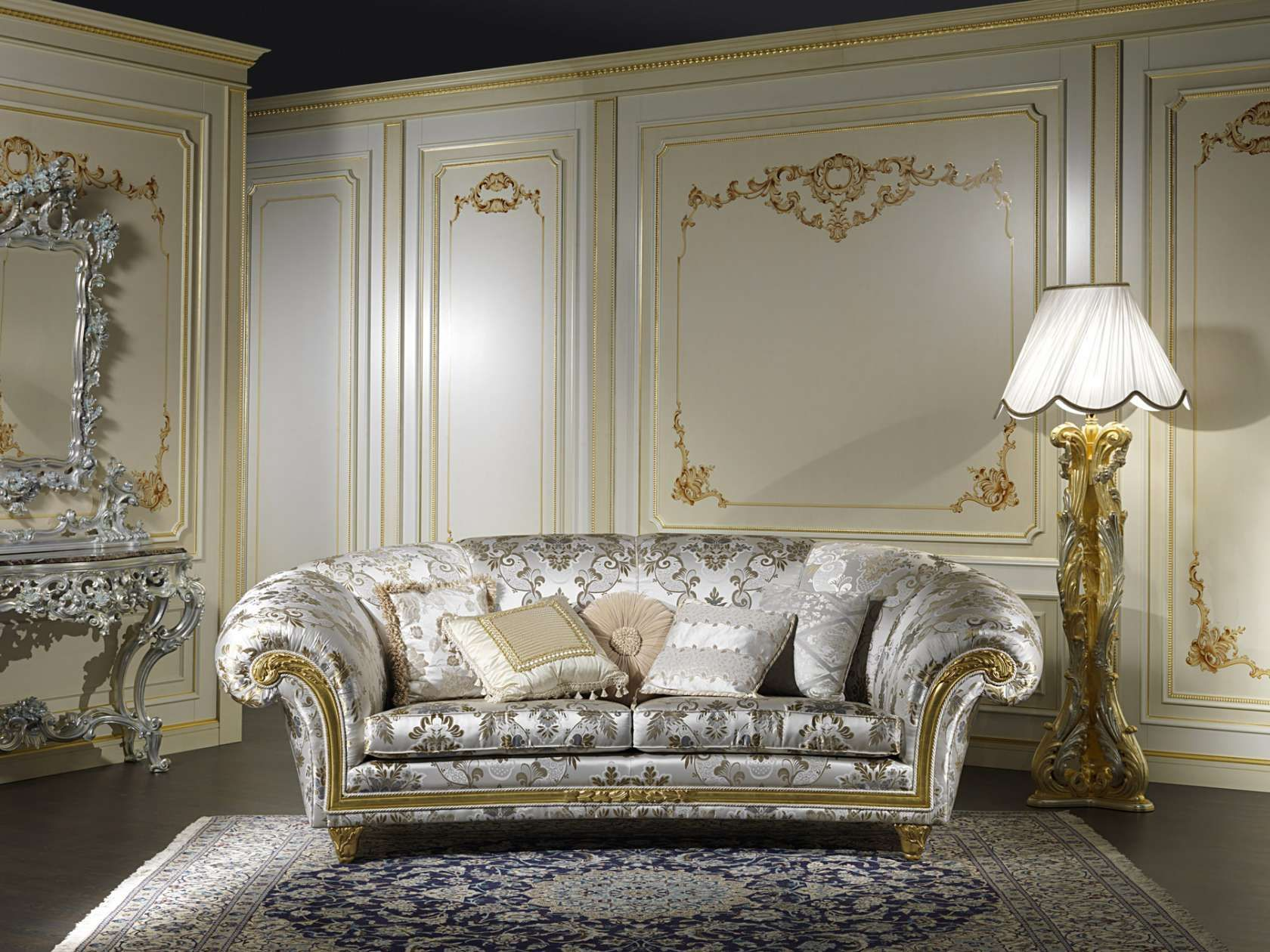 Living Room In Classic Style Palace Vimercati Classic Furniture Classic Living Room Luxury Living Room Classic Sofa
