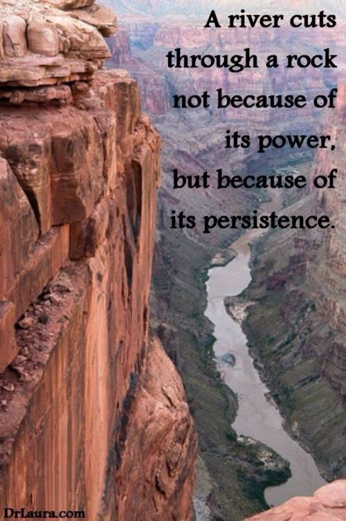 Persistence   Grand canyon quotes, Grand canyon, Places to ...