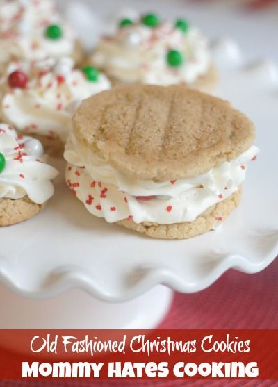 christmas cookies series old fashioned christmas cookies mommy hates cooking