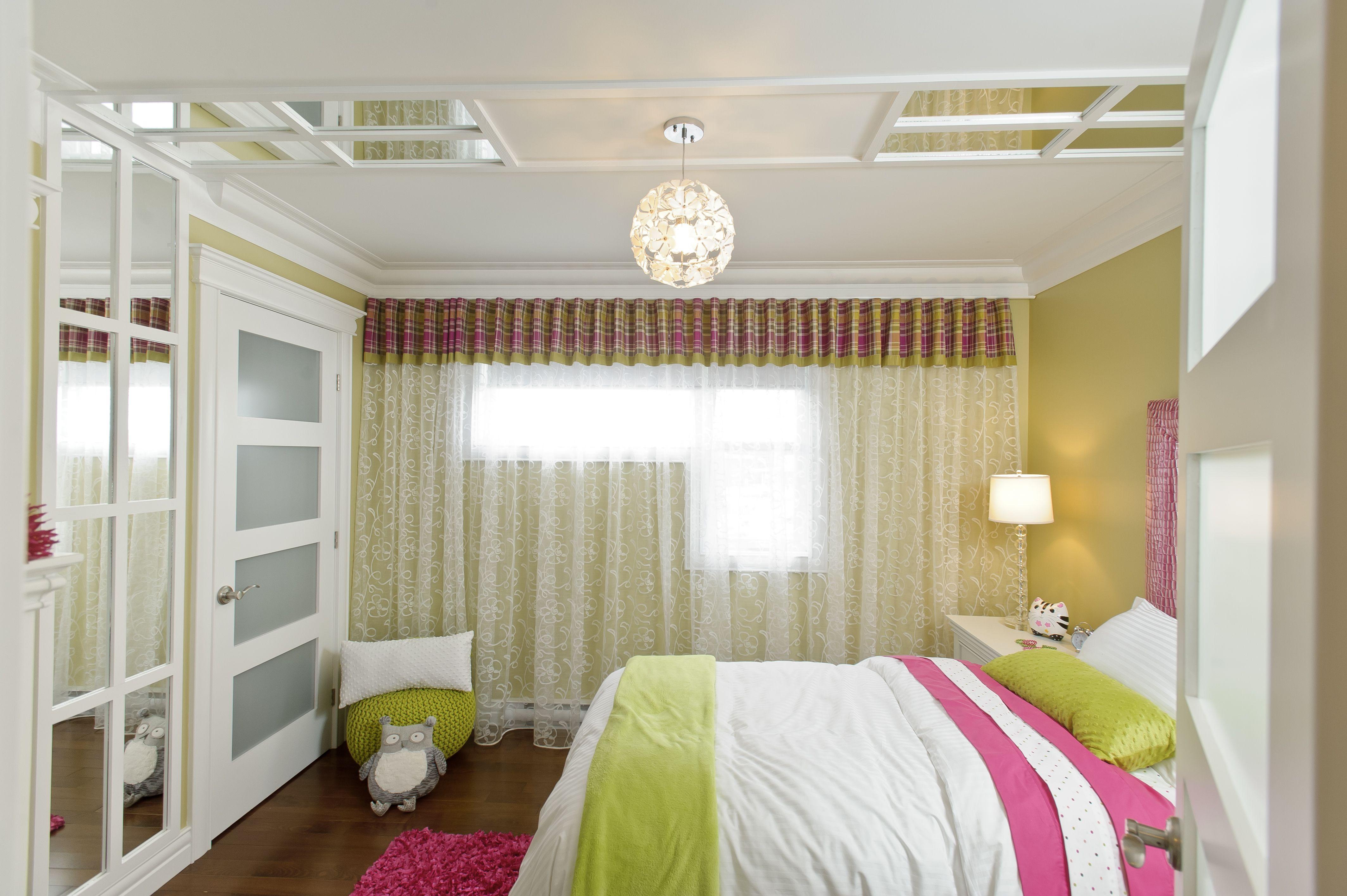 Concept Creatif De Plafond Pour Une Chambre D Enfant Moulure Miroir Plafond Enfant Creative Ceiling Concept For Kids Bedroo Home Decor Home Furniture