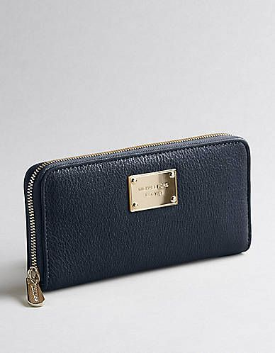 Jet Set Zip-Around Continental Wallet | Lord and Taylor