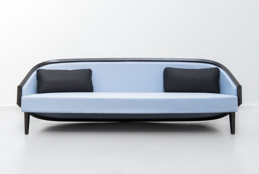 Kokoon Sofa Ash Wood Sparkx Collection By Jean Louis Deniot For