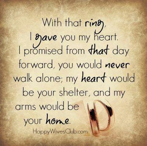This Is The Real Meaning Of A Wedding Ring Happy Wives Club Marriage Quotes Happy Wife