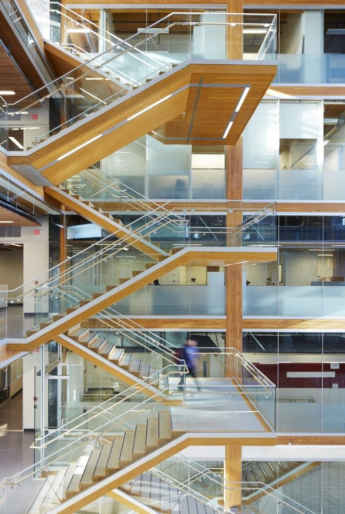 Ten Buildings Pushing The Boundaries Of Wood Atrium Design
