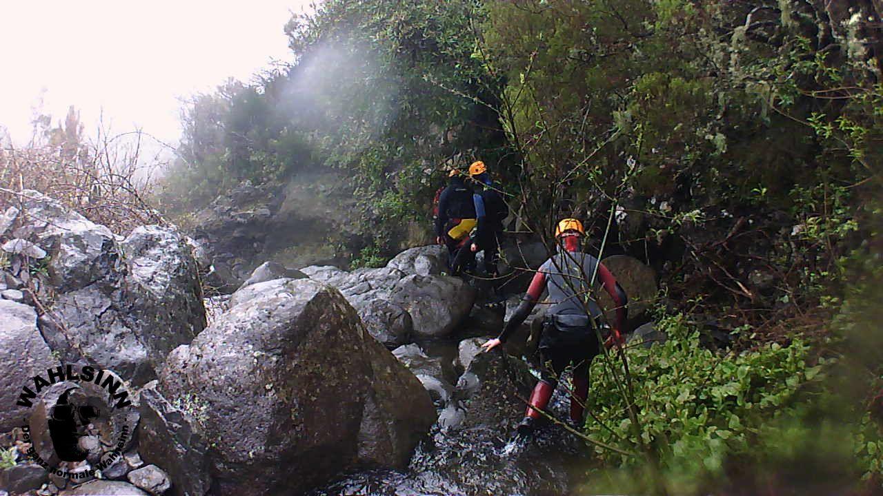 Canyoning - Immer mittendrin in den Feuchtgebiet