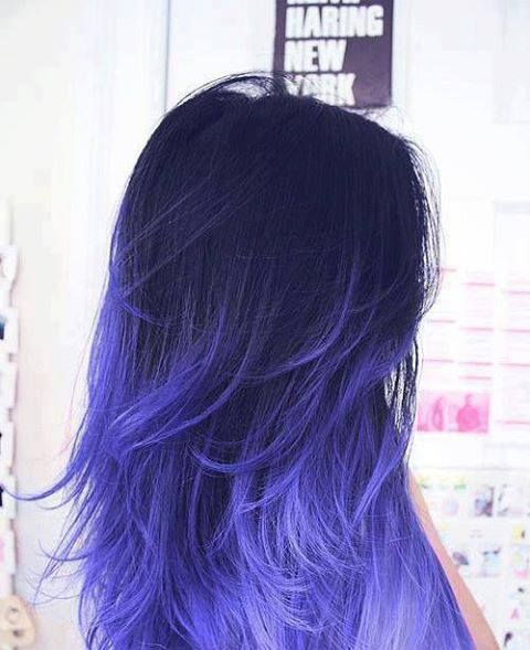Love the statement! David Andrews Hair Salon now offers fun colors with out the commitment!