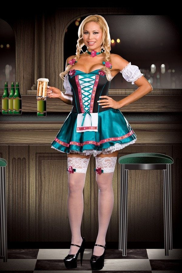 Heidi Hottie Extra groß - Dirndl - #DIRNDL #extra #GROSS #