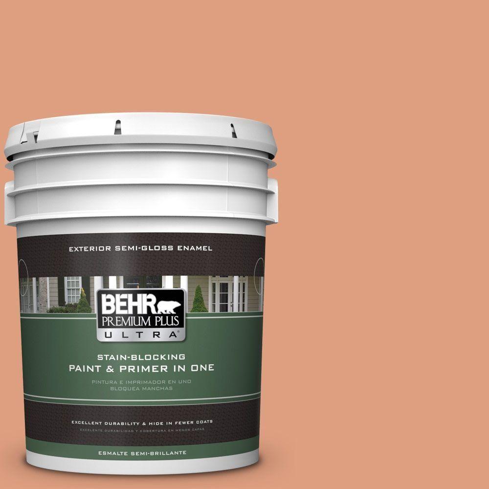 BEHR Premium Plus Ultra 5 Gal. #230D 4 Pecos Spice Semi