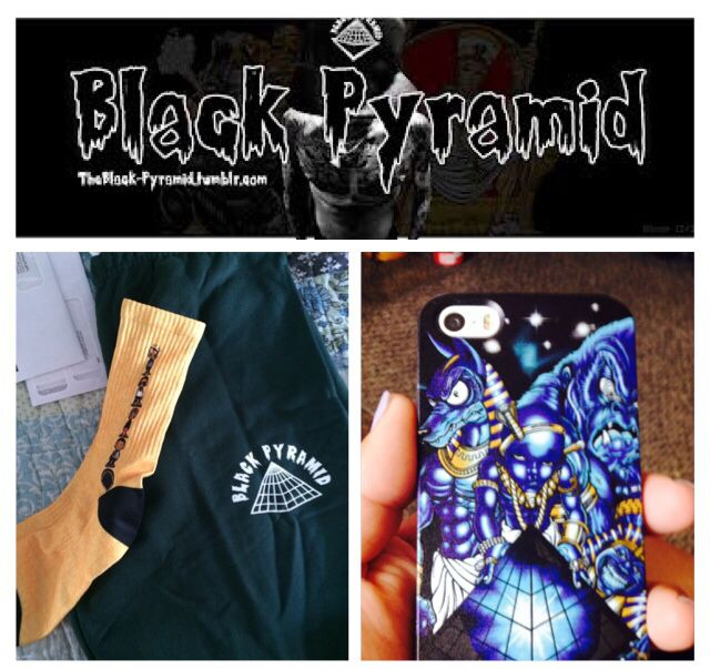 the best attitude a7eeb e1a84 I got some black pyramid sweats some socks and a new phone case!!! I ...