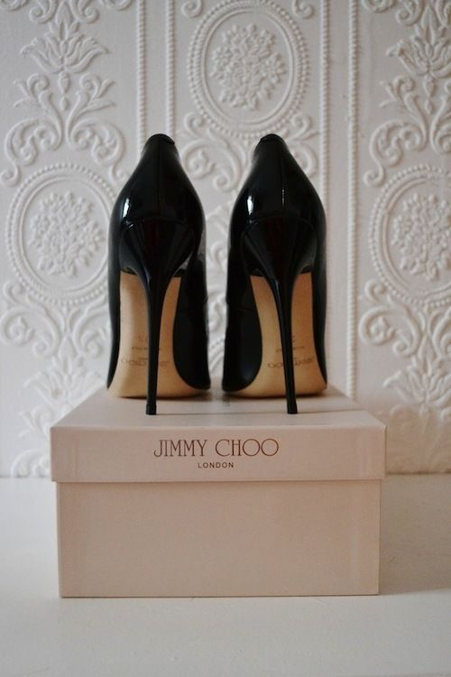 26b247630cf Hello Jimmy Choo s. These Cosmic platform patent leather pumps are so  comfortable that I actually prefer wearing them at daytime events than  opting for a ...