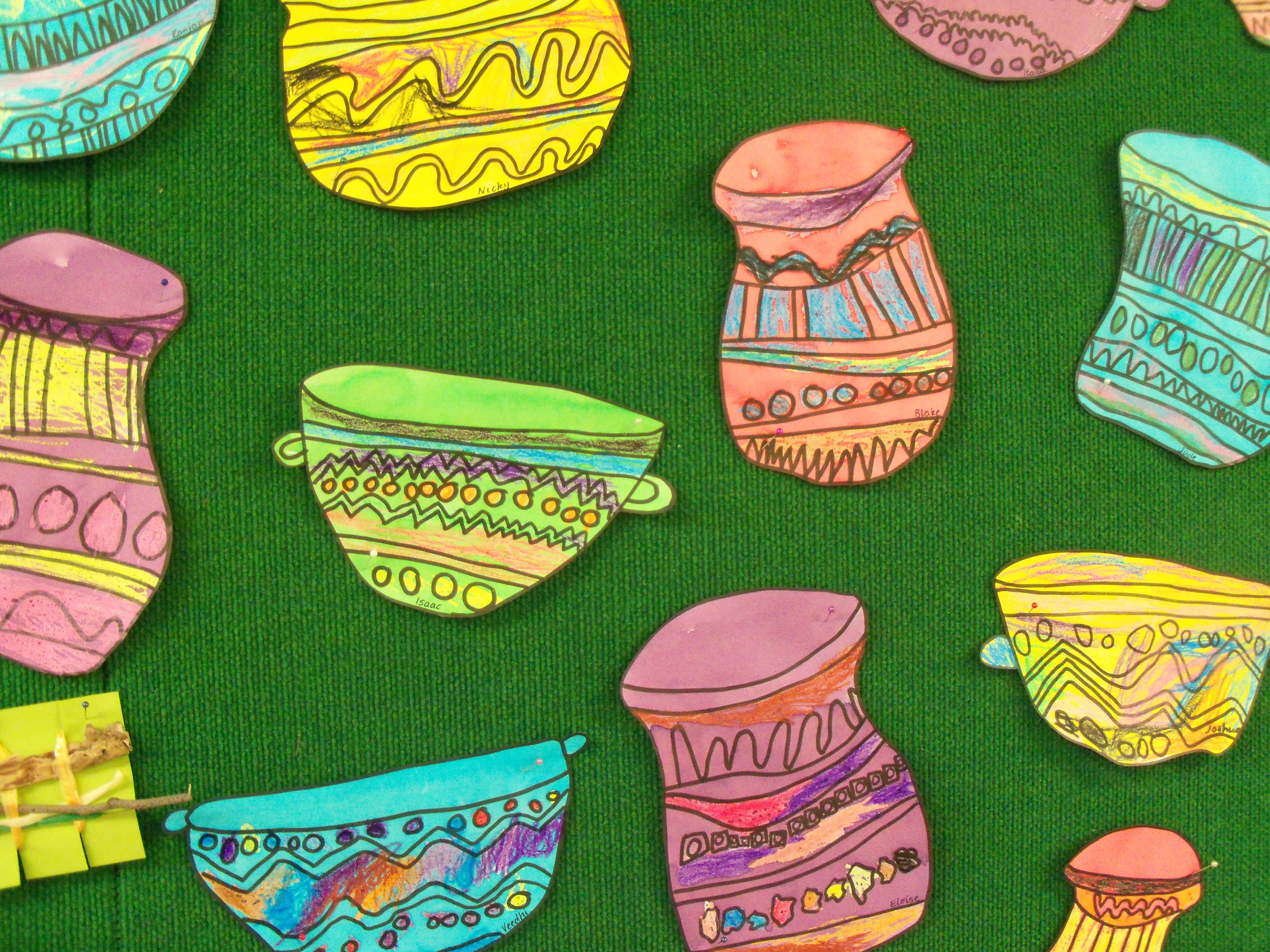 South African Pots Art Activities For Toddlers African