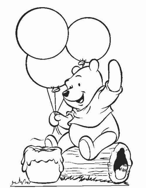 Winnie Pooh 3 Ausmalbilder | Easy christmas crafts | Pinterest ...