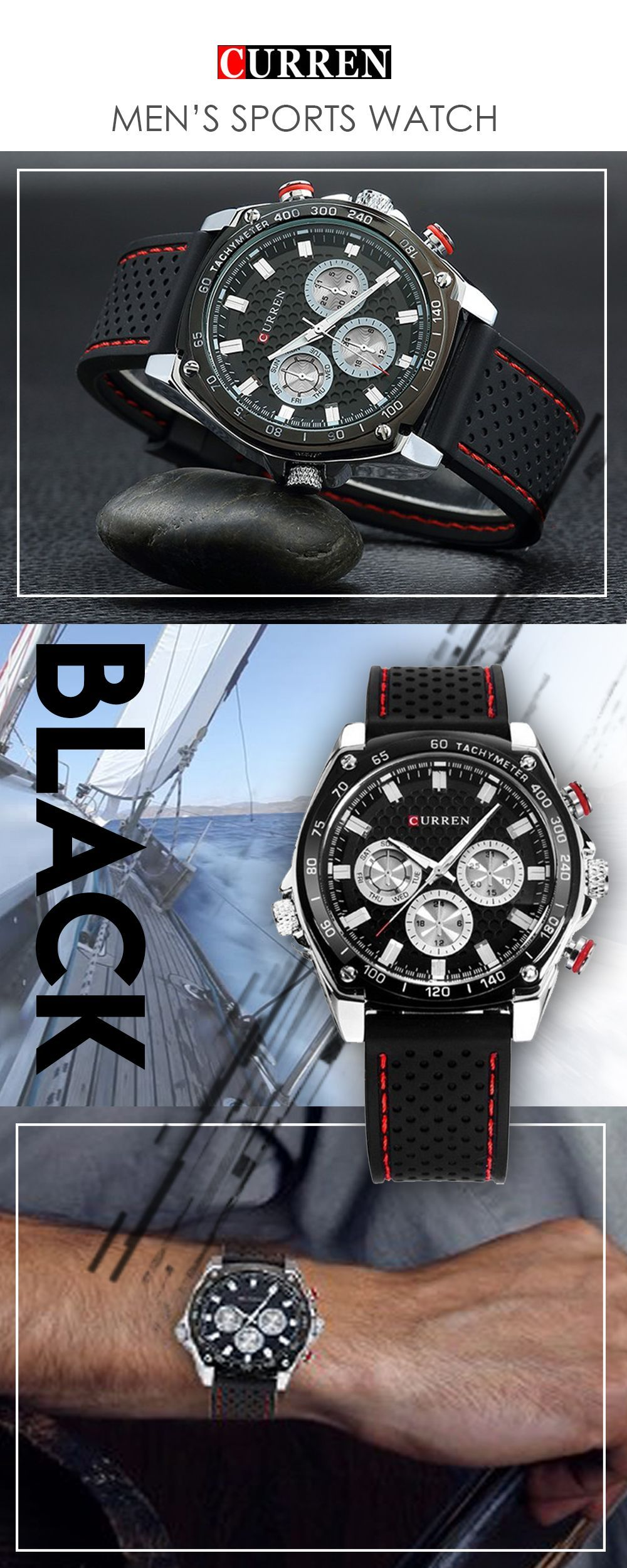 Watches Honest Weide Quartz Sport Water Resistant Watches Men Analog Clock Black Waterproof Stainless Steel Watch Olar Energy Movement Date Up-To-Date Styling