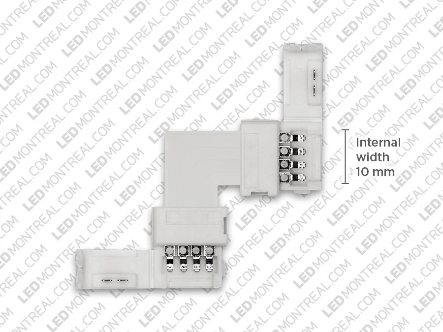 L Shape Corner Connector for 5050 RGB Strips