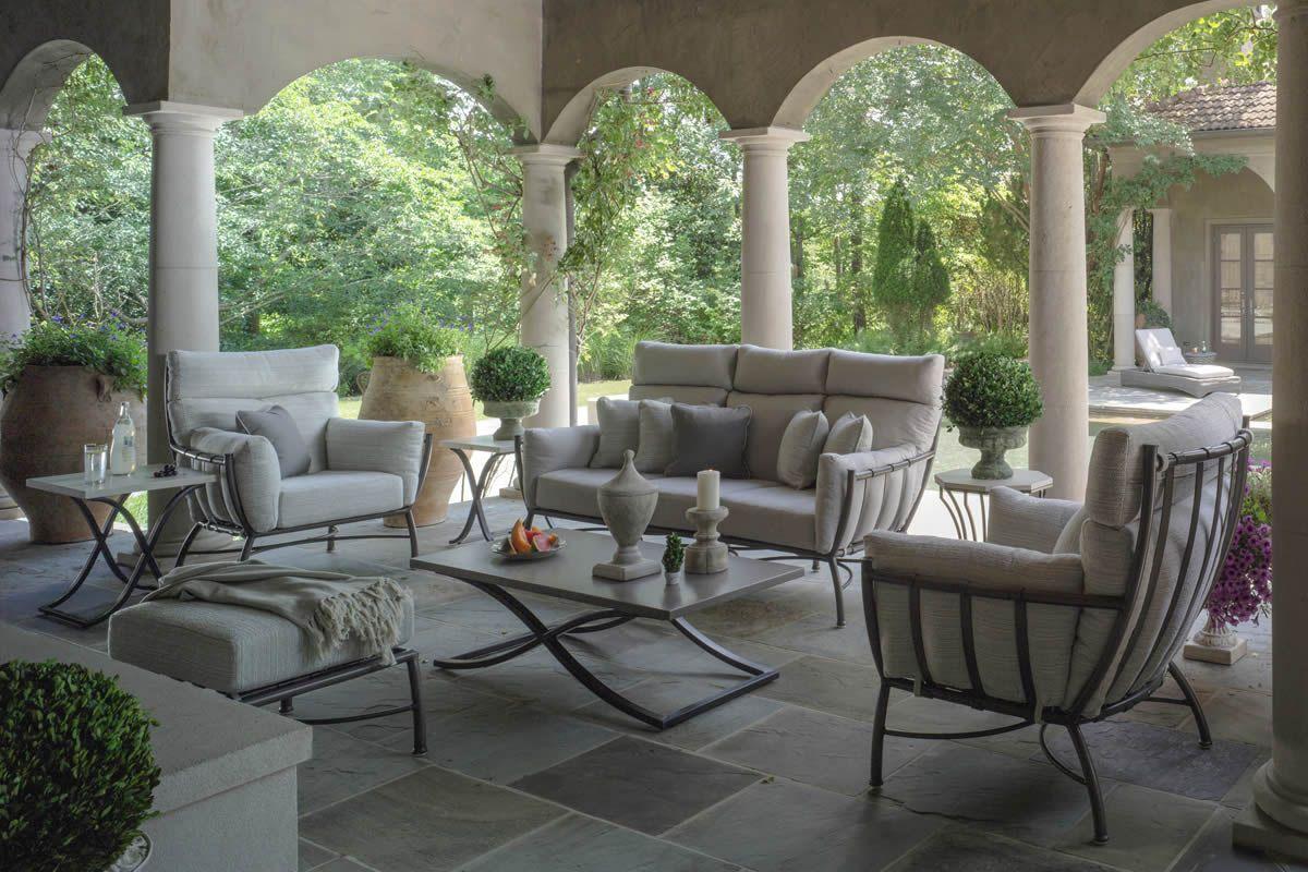 Majorca Aluminum Metal Lounge Collection By Summer Classics Outdoor Furniture Summer Classics Outdoor Furniture Outdoor Armchair Summer Classics