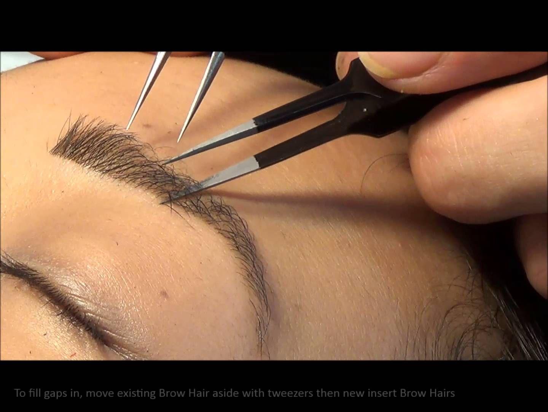 Hair Stroke Technique Eyebrows New Jersey - Studiolash eyebrow extensions eyebrow henna