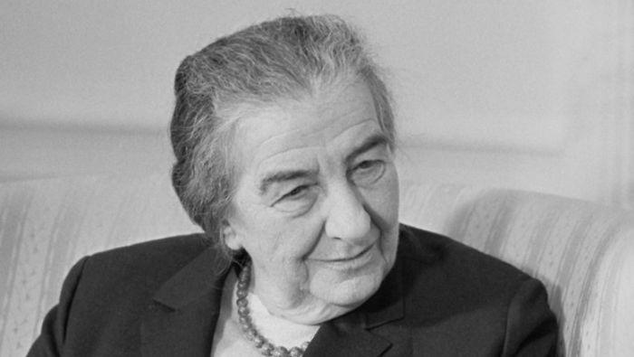 Golda Meir, 4th Prime Minister Of Israel