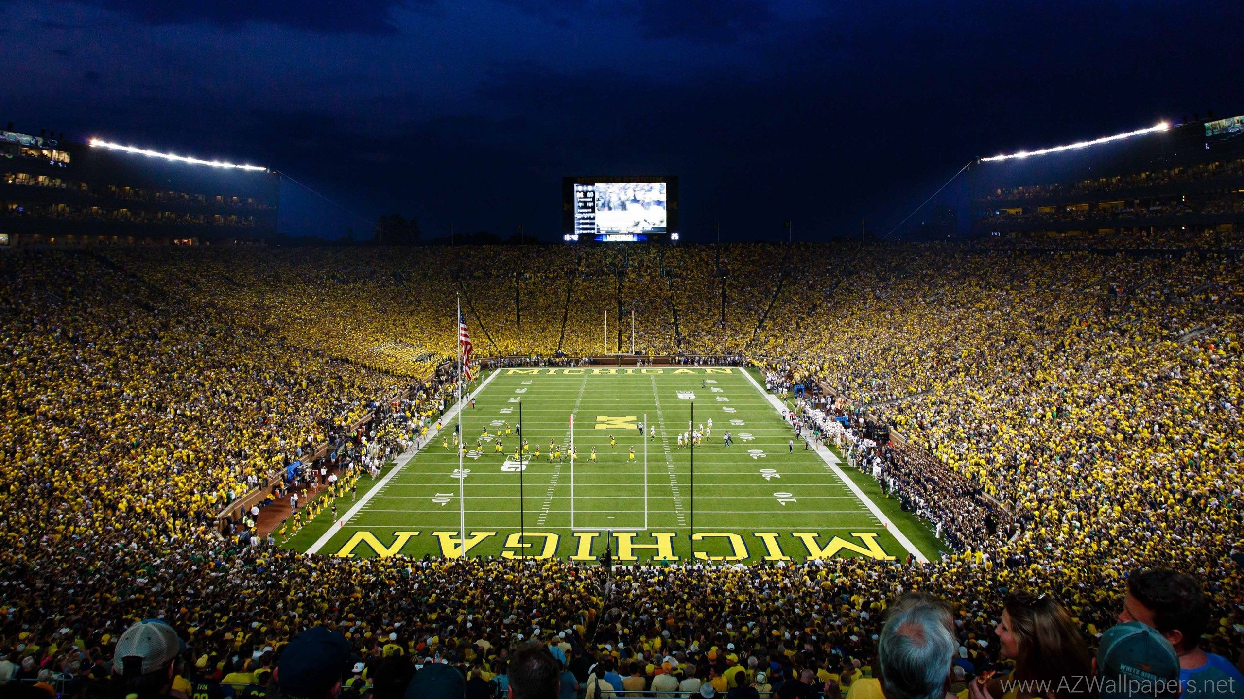 Wallpaper Michigan Football