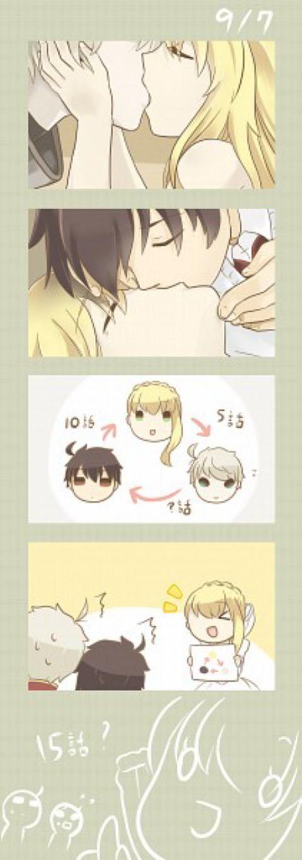 yey !! indirect kissu = 3= Asseylum approves Slaine x Inaho #TeamYaoi <3
